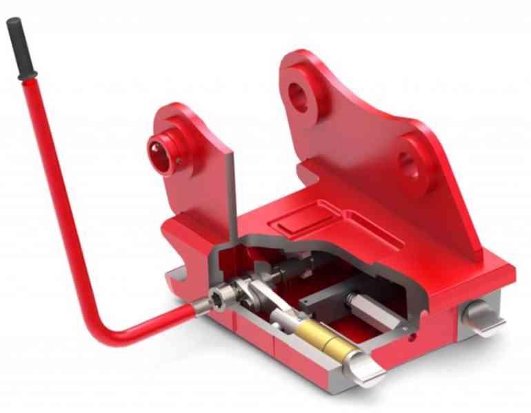 Mechanický /  hydraulický rychloupínač - foto 3
