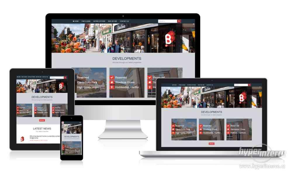 Tvorba webstránek a e-shopov | CELÉ ČESKO