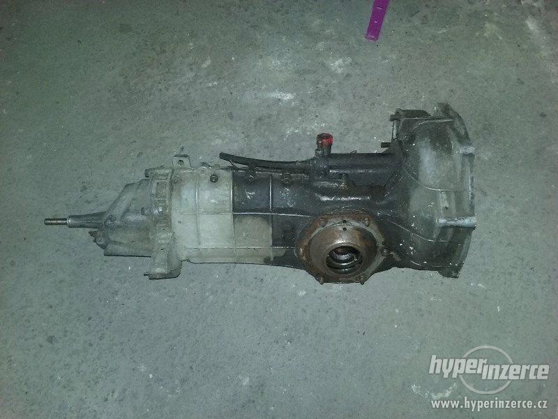 Škoda 125 - 5rychl. převodovka