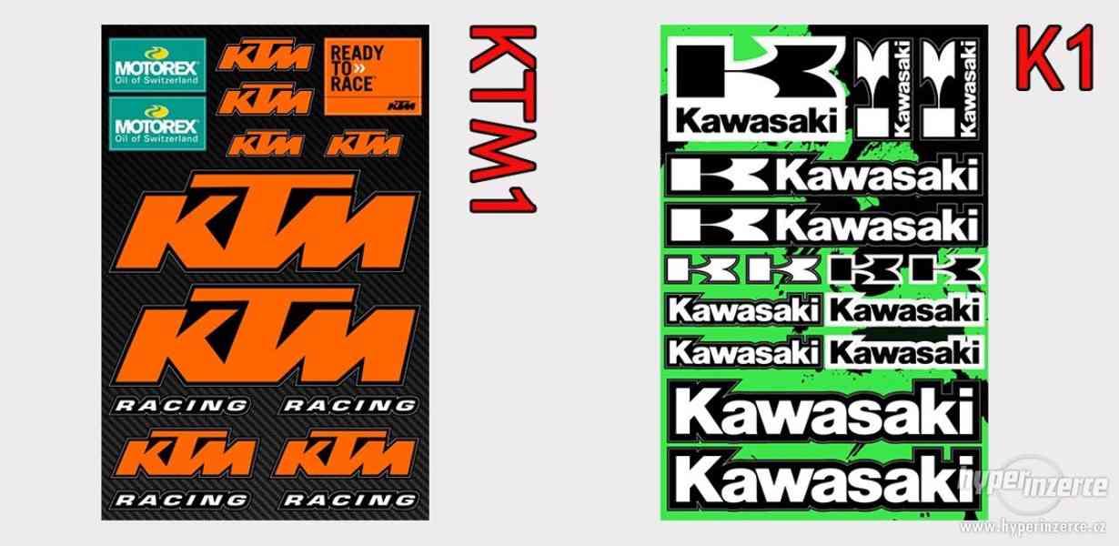 Polepy KTM, Yamaha, Honda, Suzuki, Kawasaki, BMW, Beta, VR46