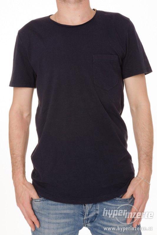 Nové pánské tričko Tom Tailor tmavě modré vel M