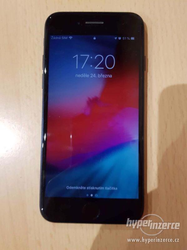iPhone 7 128GB CZ / Matte Black/ 1rok záruka