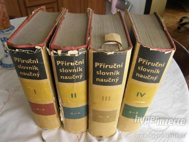 Příruční slovník naučný 1., 2., 3., a 4.díl - foto 1