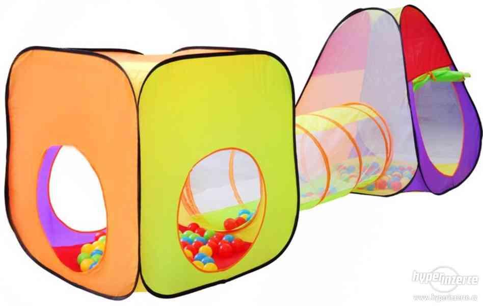 Dětský stan a hrací domeček - NOVÝ - foto 2