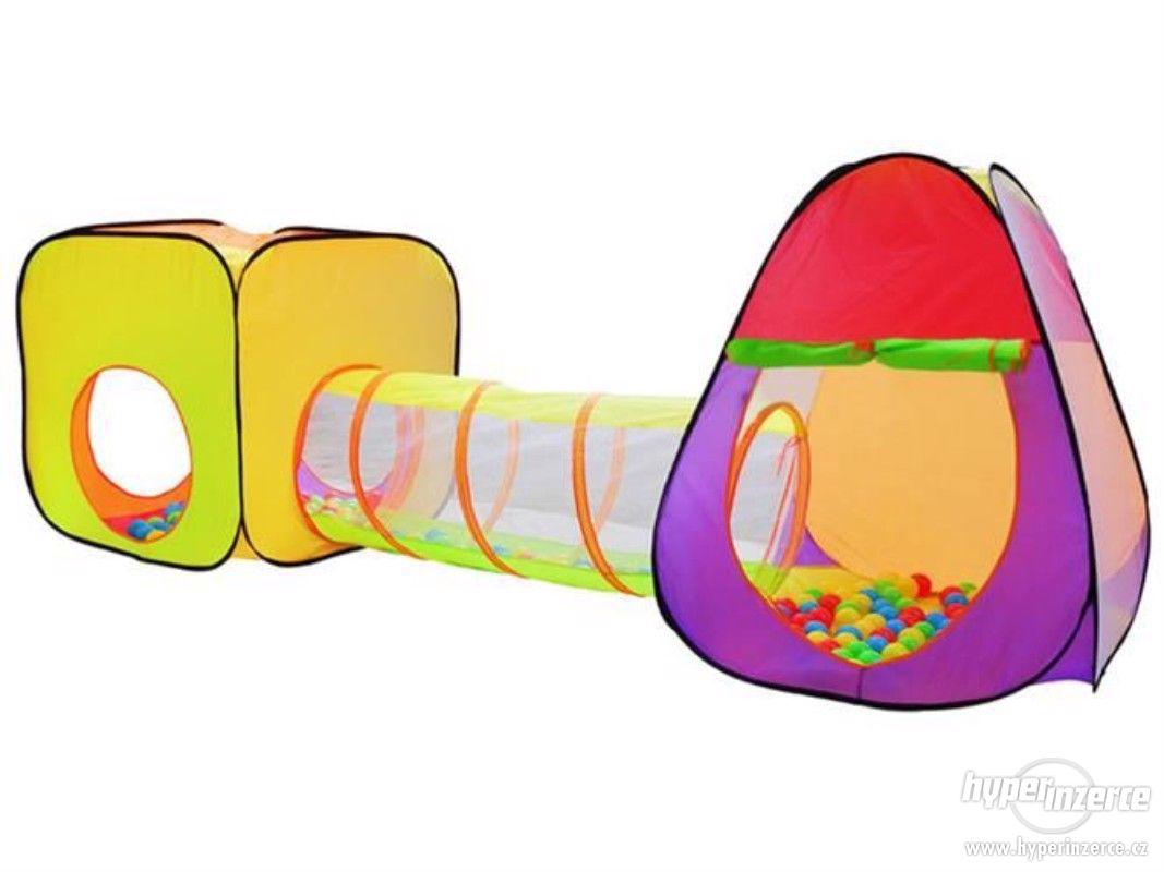 Dětský stan a hrací domeček - NOVÝ - foto 1