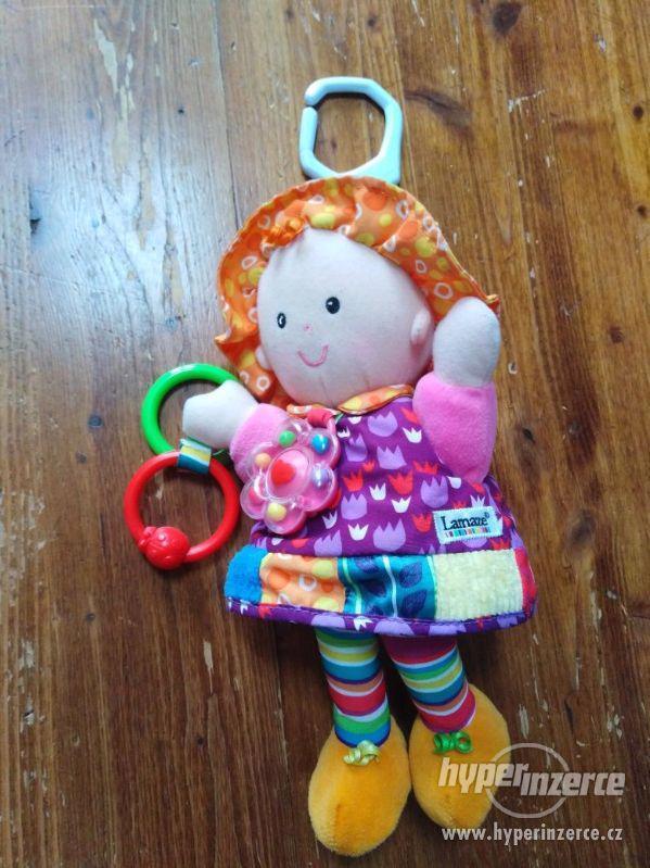 Hračky Lamaze a jiné látkové hračky