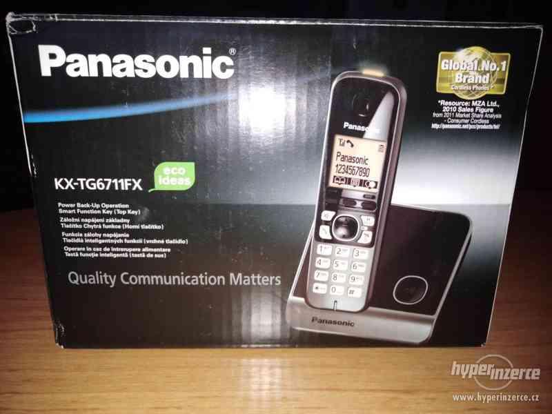 Telefon pro pevnou linku bezdrátový DUOSET Panasonic