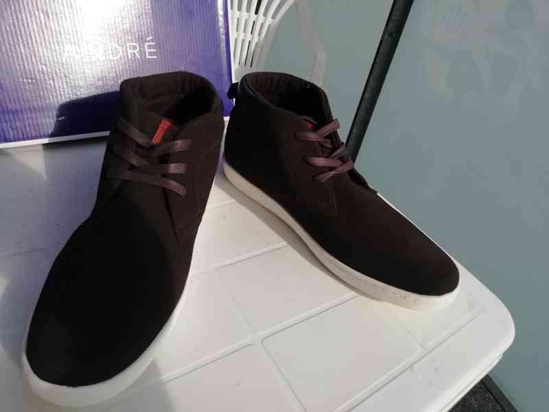Pánské zimní boty ANDRÉ č.45 - nové - sleva 55%!