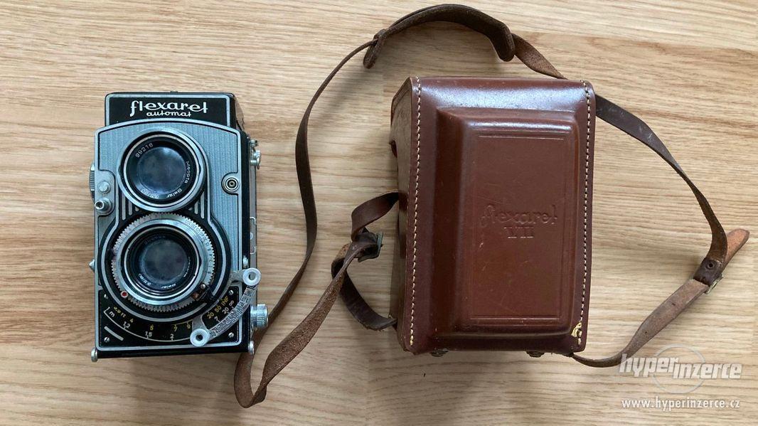 Starý fotoaparát Flexaret VII - foto 2