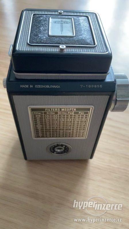 Starý fotoaparát Flexaret VII - foto 3