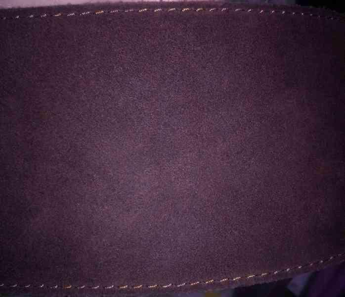 Dámský kožený široký opasek - foto 6