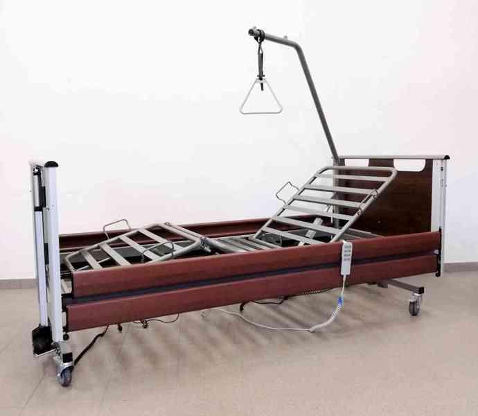 Luxusní Invalidní elektrická polohovací postel