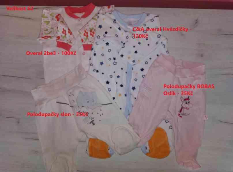 Oblečení pro miminko - velikost 62
