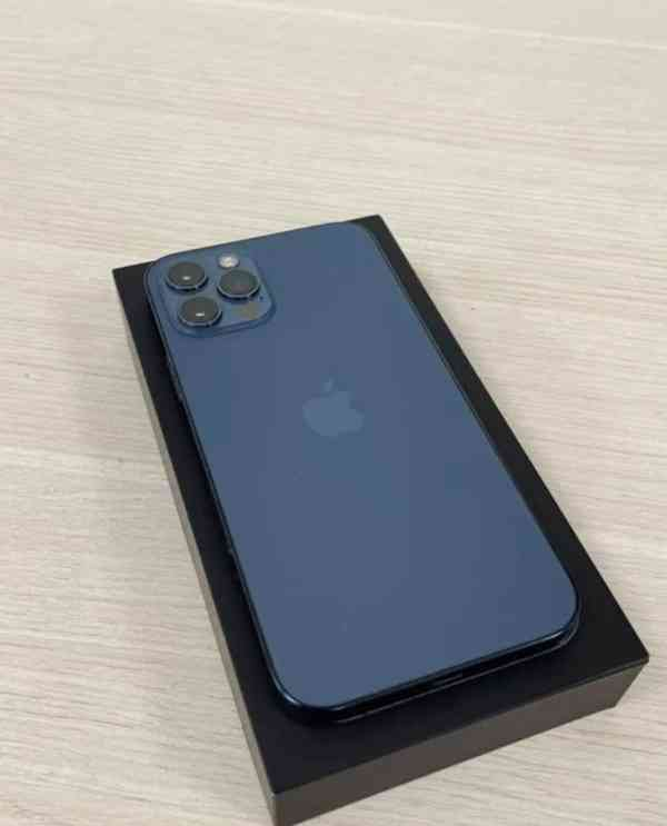 iPhone 12 Pro , 512GB tichomořsky modrá 100% - foto 6