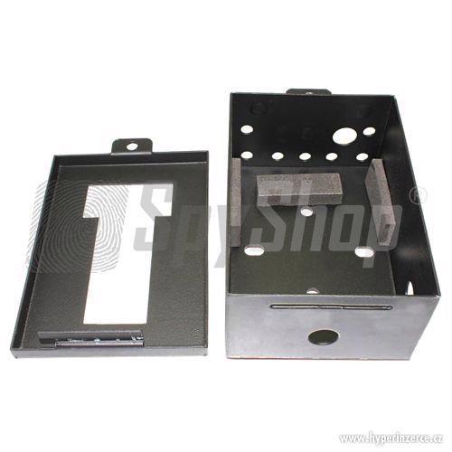 Ochranná kovová skříňka pro fotopasti fotopast - foto 2