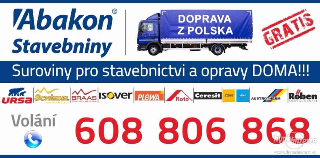 Stavební Materiály z Polska-Doprava GRATIS!