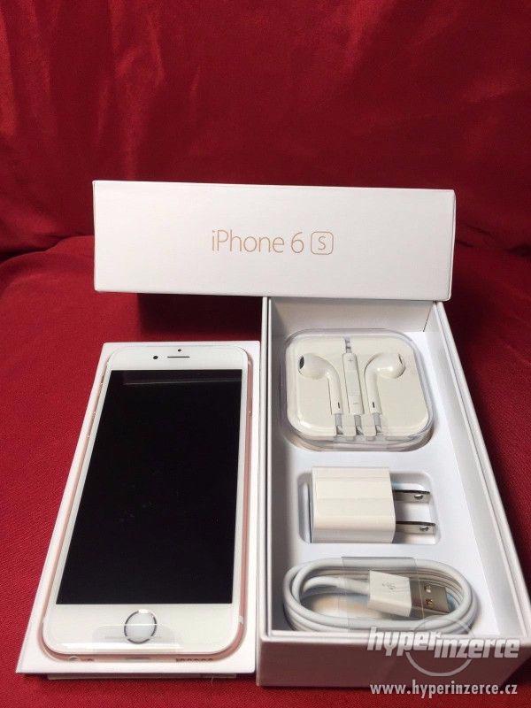 Nový Nejnovější Apple iPhone 6S 64GB- růžové zlato odemčený - foto 1