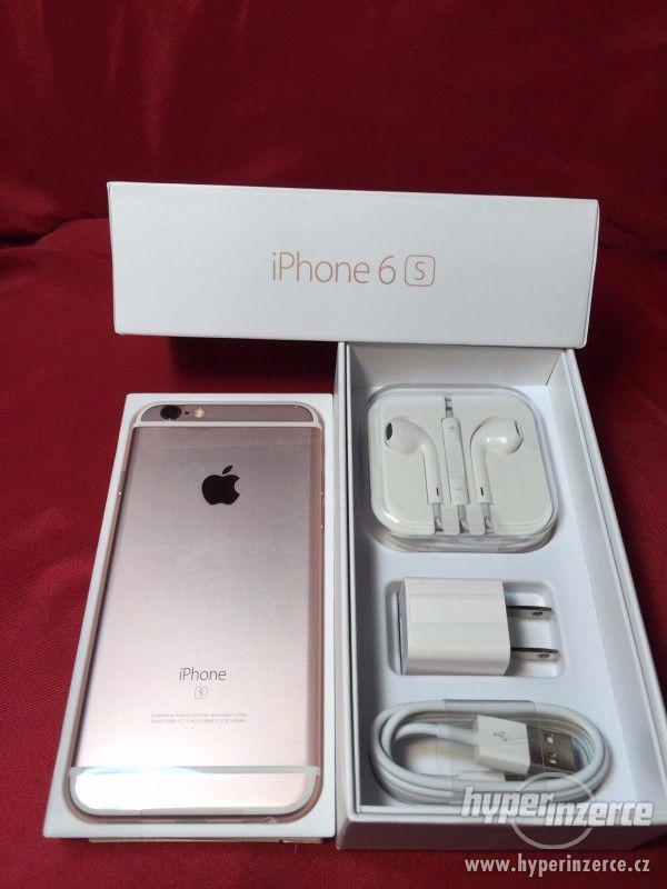 Nový Nejnovější Apple iPhone 6S 64GB- růžové zlato odemčený - foto 2