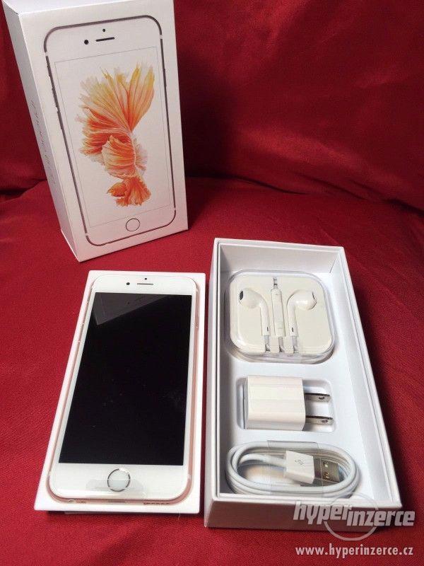 Nový Nejnovější Apple iPhone 6S 64GB- růžové zlato odemčený - foto 3