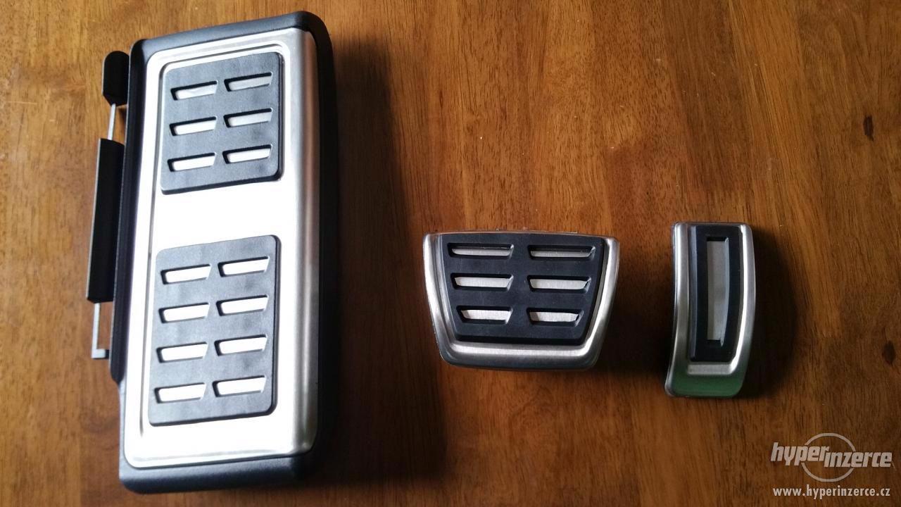 GTI / RS pedály nerez Š. Octavia3 / VW Golf7 Prodám RS / GTI - foto 1
