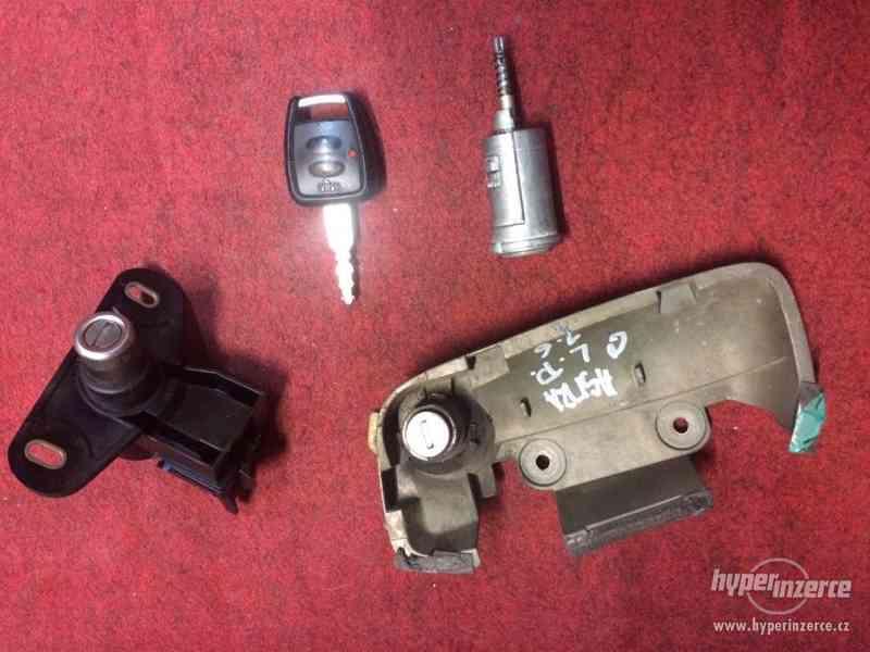 zámky s klíčem DO na Opel Astra G - Géčko