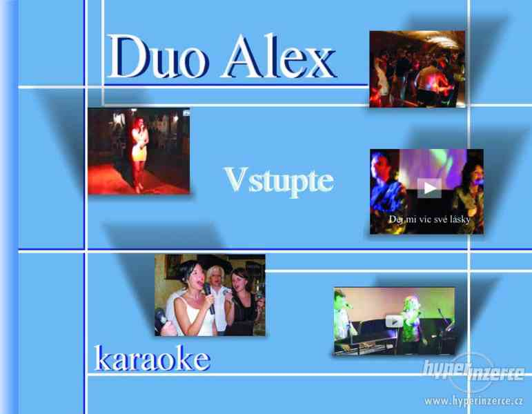 Svatební hudba, kapela, karaoke - Duo Alex - foto 1