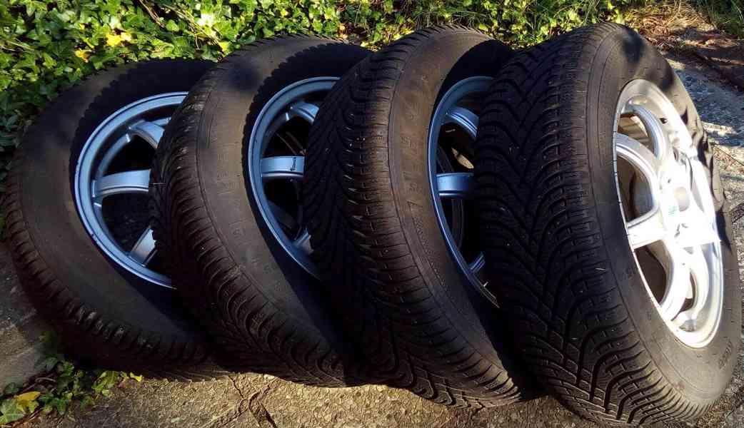 "Disky Alutec 6x15"", 4x108, se zimními pneumatikami"