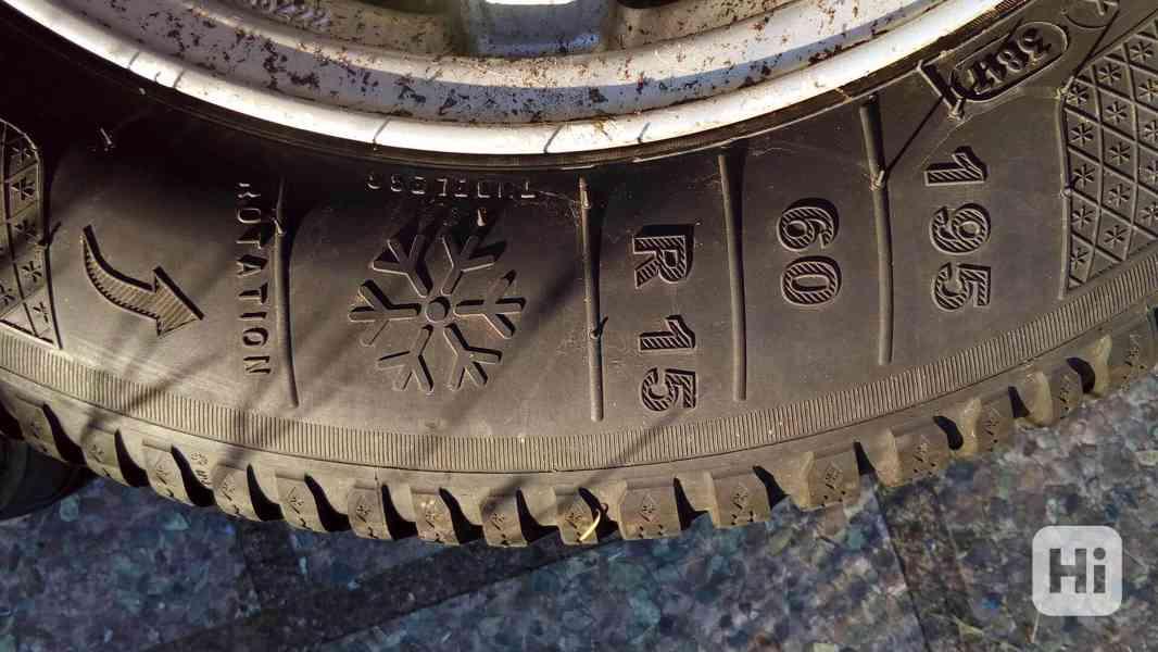 """Disky Alutec 6x15"""", 4x108, se zimními pneumatikami - foto 8"""