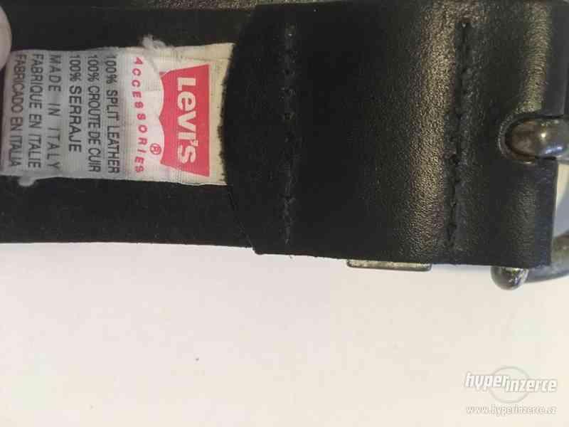 Kožený pásek Levis - foto 5