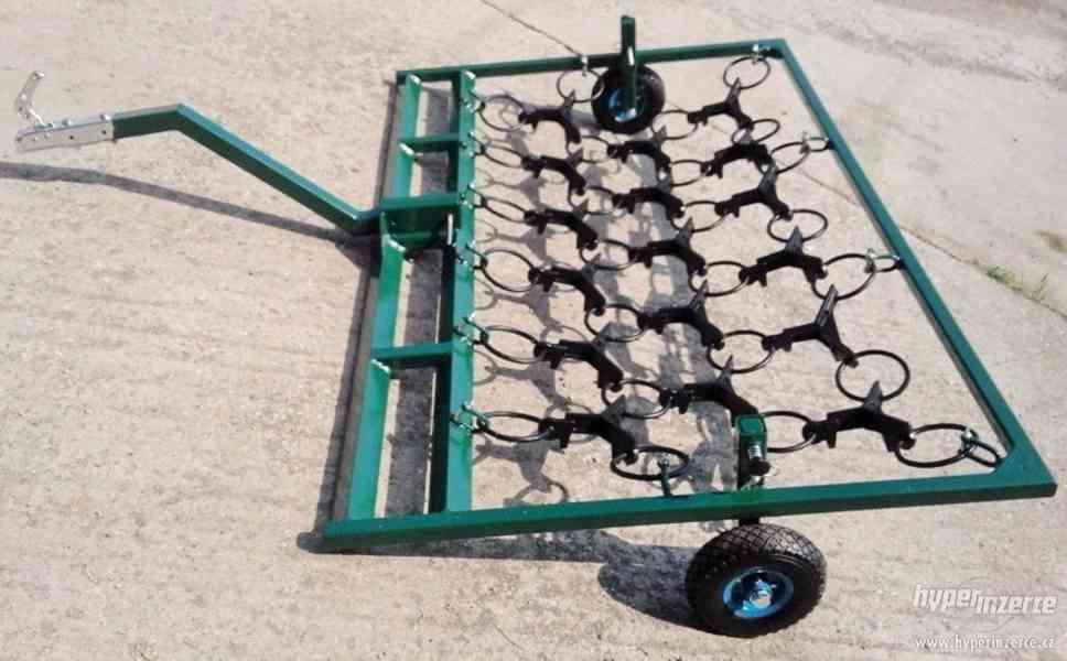 Luční brány za čtyřkolku s odnímatelnými koly - foto 3