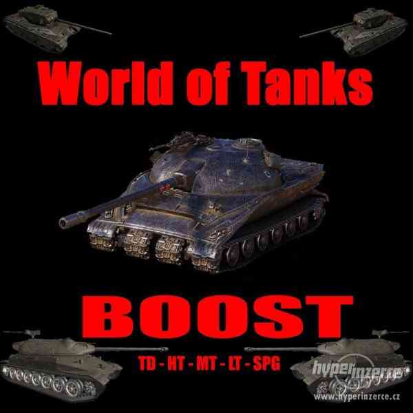 World of tanks boost