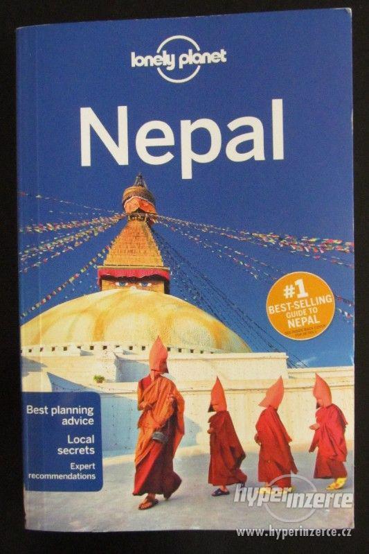 Průvodce Lonely Planet Nepal 2018 AJ téměř nová - foto 1