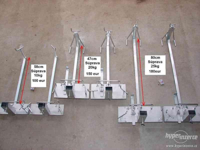 vyrovnavací souprava nivelační souprava zakladací vozík