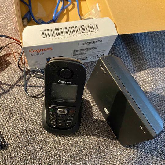 Bezdrátový IP telefon - foto 1