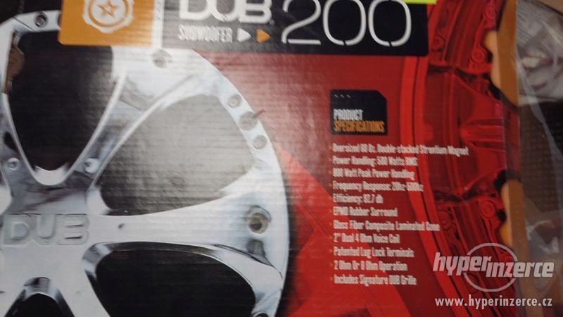 Nabízím kvalitní Subwoofer DUB 200 - foto 5