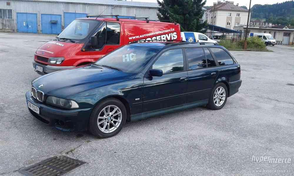 BMW 525 TDS, rok 1999, Chip, pravidelně servisováno