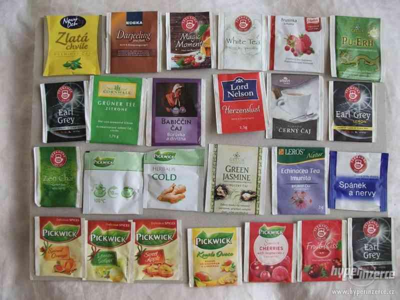 Pro sběratele - čajové přebaly - foto 1