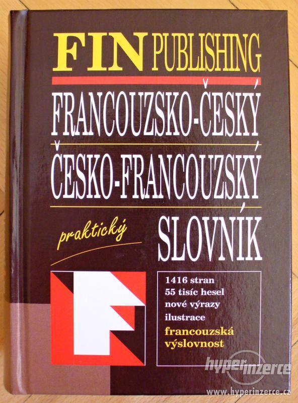 Francouzský praktický slovník FIN -nový