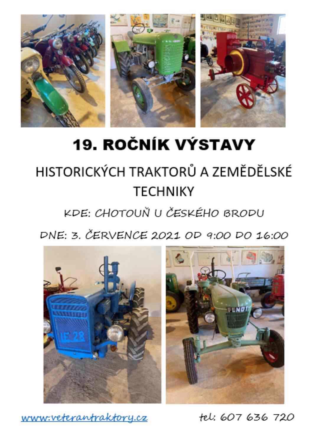 Pozvánka na výstavu traktorů - foto 1