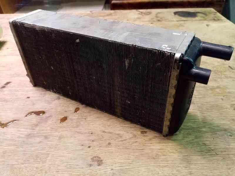 Škoda 105, 120, 130 - radiátor topení NOVÝ - foto 4