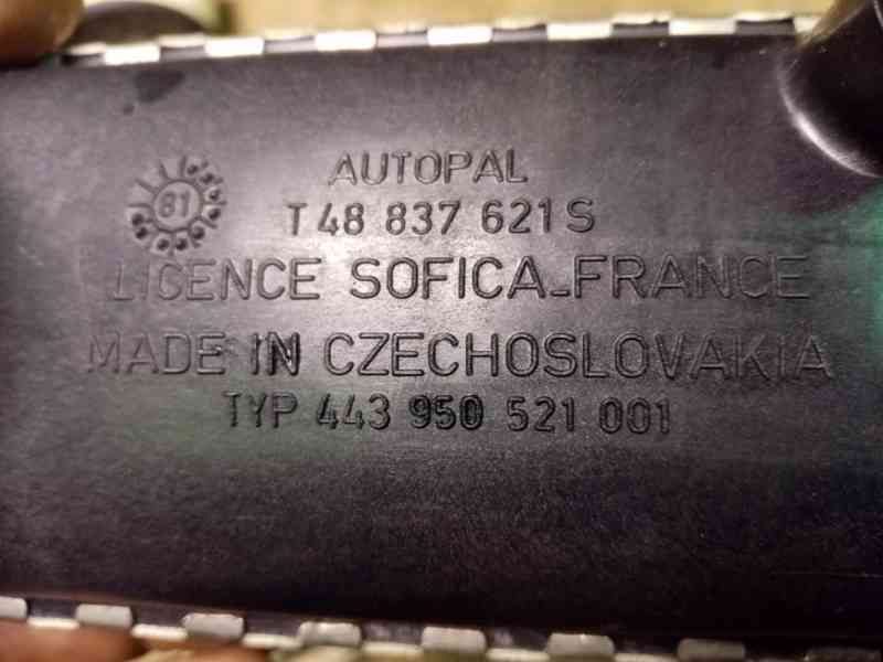 Škoda 105, 120, 130 - radiátor topení NOVÝ - foto 3