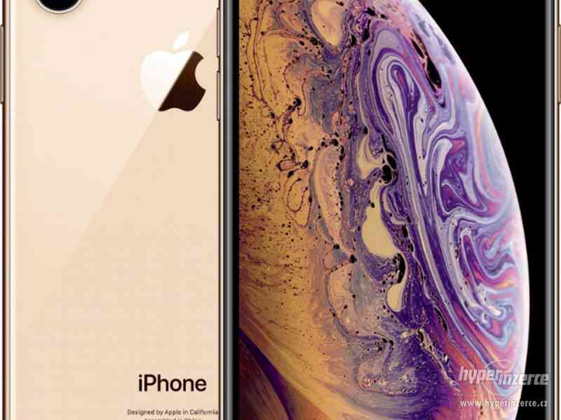 Apple iPhone Xs 64GB gold - NEROZBALENÝ-Záruka 24m