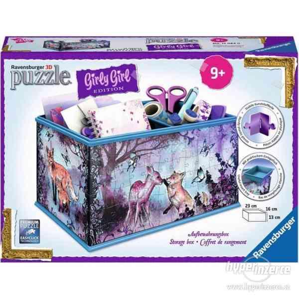 Ravensburger 3D puzzle - úložná krabice - foto 1