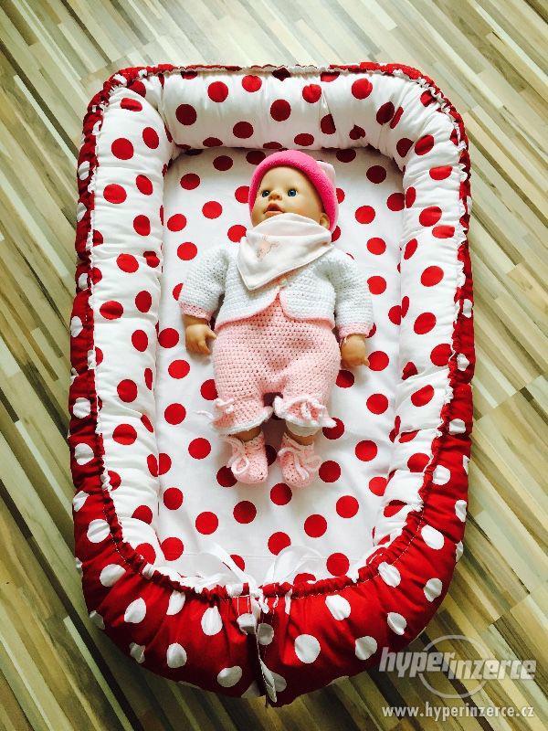 Nové oboustranné hnízdečko pro miminko