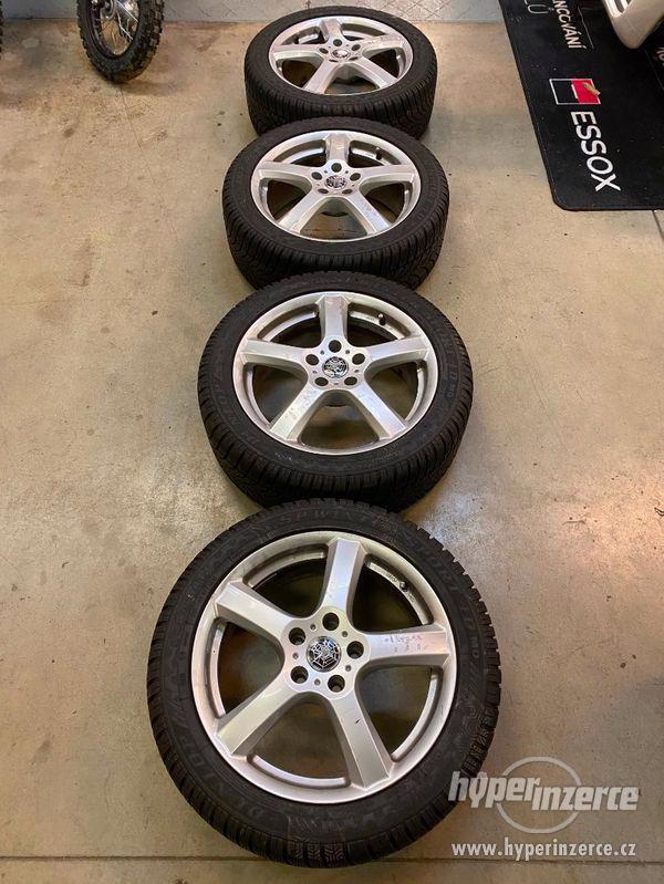 Alu kola + zimní pneu Dunlop 235/45R/17 VW, Škoda, Audi ... - foto 1