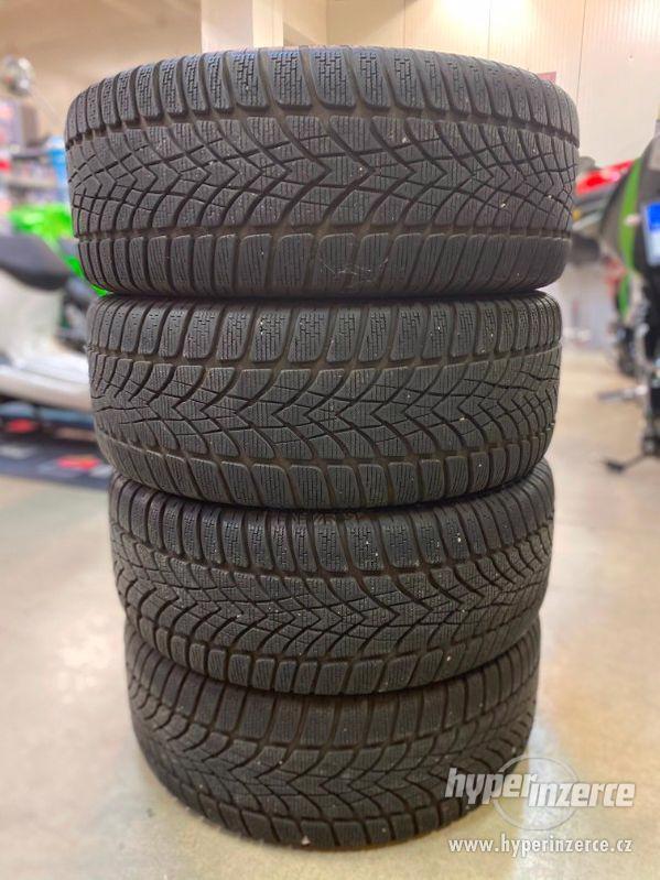Alu kola + zimní pneu Dunlop 235/45R/17 VW, Škoda, Audi ... - foto 2