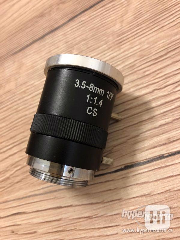 objektiv 3.5-8mm 1/3'' - foto 4