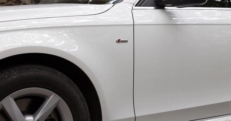 AUDI S LINE BOČNÍ A ZADNÍ LOGO Audi A4 A4L A5 A6L S3 S6 Na b - foto 6