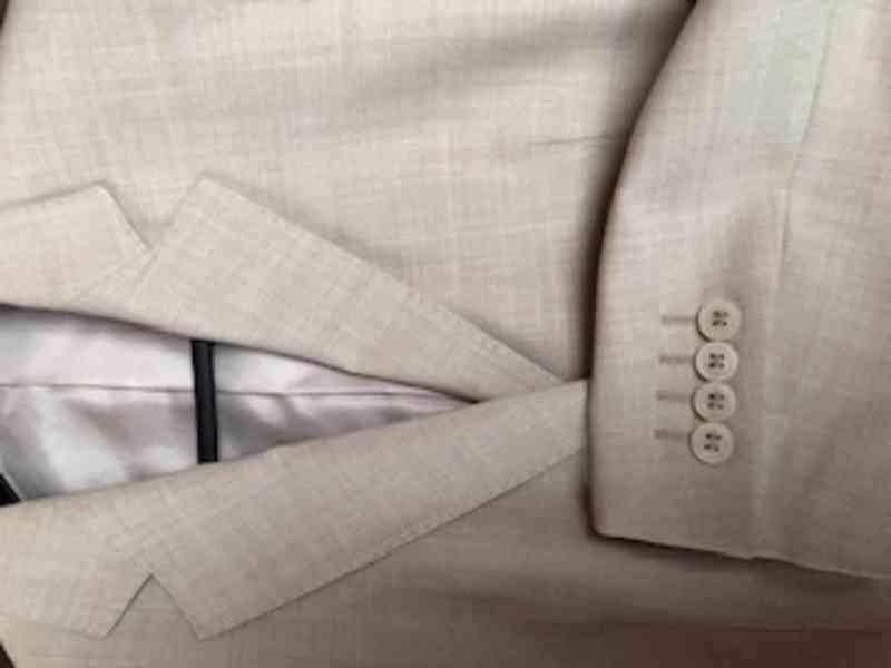 Prodám dámské béžové sako OP Prostějov - foto 3