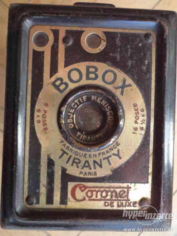 Historický Fotoaparát Coronet de Luxe (BOBOX, Tyranty) - foto 2